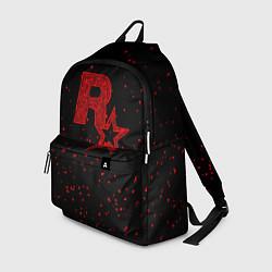 Рюкзак Rockstar Red цвета 3D — фото 1