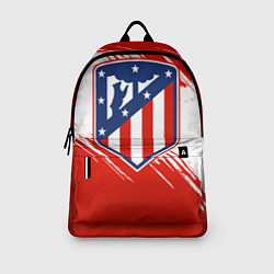 Рюкзак ФК Атлетико Мадрид цвета 3D-принт — фото 2