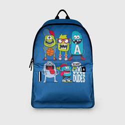 Рюкзак Cool Dudes цвета 3D-принт — фото 2