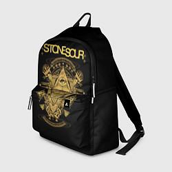 Рюкзак Stone Sour цвета 3D-принт — фото 1