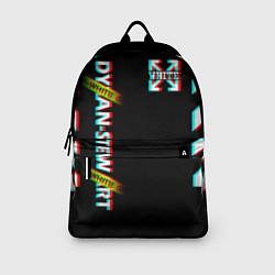 Рюкзак Off-White: Black Glitch цвета 3D — фото 2