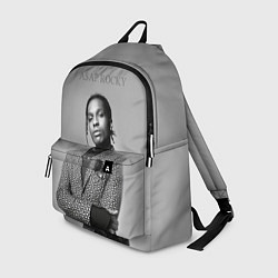 Рюкзак ASAP Rocky: Grey Fashion цвета 3D-принт — фото 1