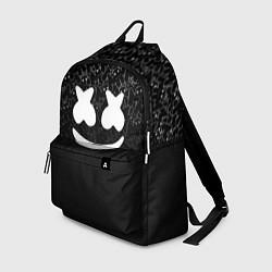 Рюкзак Marshmello Black цвета 3D-принт — фото 1