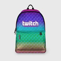 Рюкзак Rainbow Twitch цвета 3D-принт — фото 2