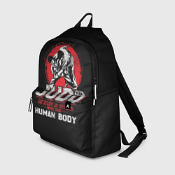 Рюкзак Judo: Human Body цвета 3D-принт — фото 1