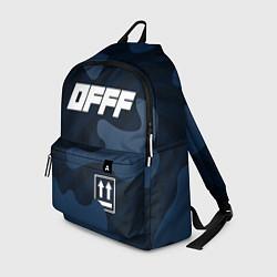 Рюкзак Off-White цвета 3D-принт — фото 1