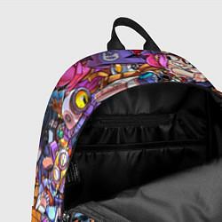 Городской рюкзак с принтом BRAWL STARS LEON, цвет: 3D, артикул: 10200432505601 — фото 2