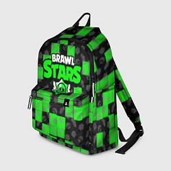 Рюкзак BRAWL STARS цвета 3D-принт — фото 1