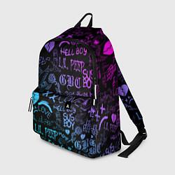 Городской рюкзак с принтом LIL PEEP LOGOBOMBING, цвет: 3D, артикул: 10204410905601 — фото 1