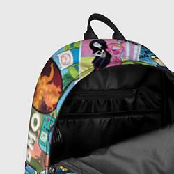 Рюкзак Время Приключений цвета 3D-принт — фото 2