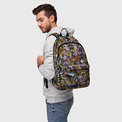 Рюкзак FNaF стикербомбинг цвета 3D — фото 2