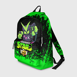 Рюкзак BRAWL STARS VIRUS 8-BIT цвета 3D — фото 1