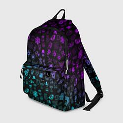 Рюкзак RAINBOW SIX SIEGE NEON цвета 3D-принт — фото 1