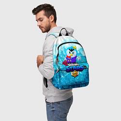 Рюкзак Mr P Brawl Stars цвета 3D — фото 2