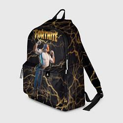 Городской рюкзак с принтом Meowcles Fortnite 2, цвет: 3D, артикул: 10235602305601 — фото 1