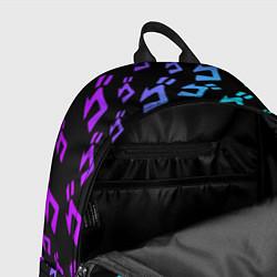 Рюкзак JOJOS BIZARRE ADVENTURE цвета 3D-принт — фото 2