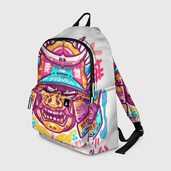 Рюкзак Светлый самурай цвета 3D-принт — фото 1