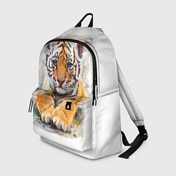 Рюкзак Tiger Art цвета 3D-принт — фото 1