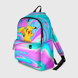 Рюкзак Пикачу цвета 3D — фото 1