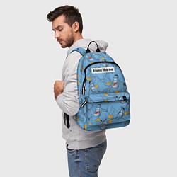 Рюкзак Friend like me цвета 3D-принт — фото 2