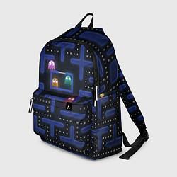 Рюкзак Pacman цвета 3D-принт — фото 1