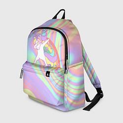 Рюкзак ЕДИНОРОГ цвета 3D-принт — фото 1