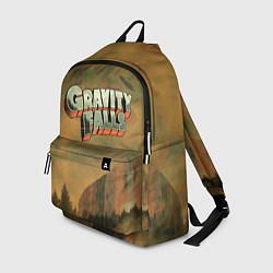Рюкзак Полный загадок Гравити Фолз цвета 3D-принт — фото 1