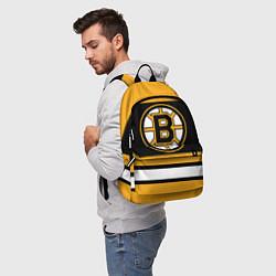 Рюкзак Boston Bruins цвета 3D-принт — фото 2