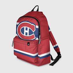 Рюкзак Montreal Canadiens цвета 3D-принт — фото 1