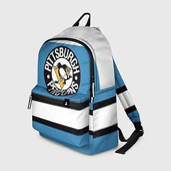 Рюкзак Pittsburgh Penguins: White цвета 3D — фото 1