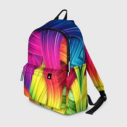 Рюкзак Абстракция цвета цвета 3D — фото 1