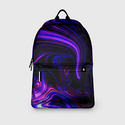 Рюкзак Цветные разводы цвета 3D — фото 2