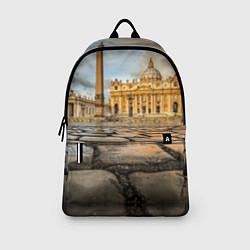 Рюкзак Площадь святого Петра цвета 3D-принт — фото 2