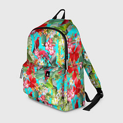Рюкзак Тропический мир цвета 3D-принт — фото 1