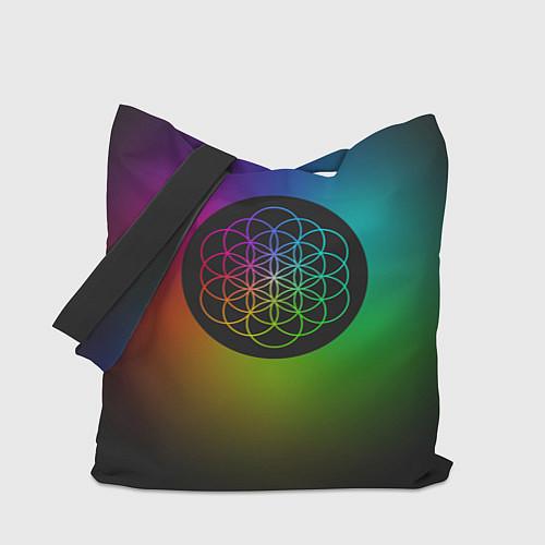 Сумка-шоппер Coldplay Colour / 3D-принт – фото 1