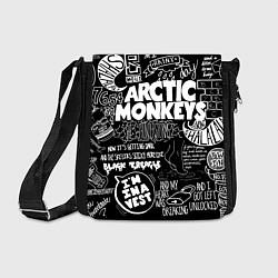 Сумка на плечо Arctic Monkeys: I'm in a Vest цвета 3D-принт — фото 1