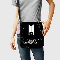 Сумка на плечо BTS ARMY цвета 3D-принт — фото 2