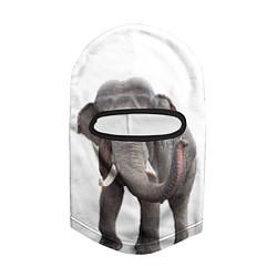 Балаклава Большой слон цвета 3D-черный — фото 2