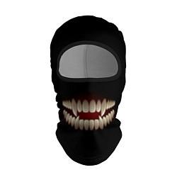Балаклава Зубы монстра цвета 3D-черный — фото 1