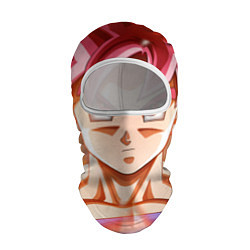 Балаклава DBZ: Super Goku цвета 3D-белый — фото 1