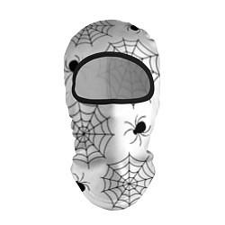 Балаклава Паутинка цвета 3D-черный — фото 1