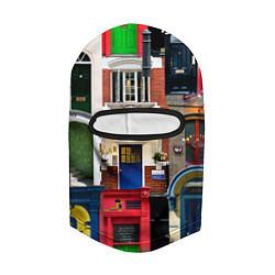 Балаклава London doors цифровой коллаж цвета 3D-черный — фото 2