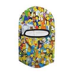 Балаклава Simpsons Stories цвета 3D-черный — фото 2