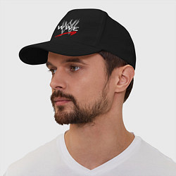 Бейсболка WWE Fight цвета черный — фото 1