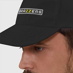 Бейсболка Brazzers цвета черный — фото 2