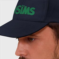 Бейсболка Sims цвета тёмно-синий — фото 2