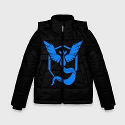 Куртка зимняя для мальчика Pokemon Blue Team цвета 3D-черный — фото 1