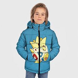 Куртка зимняя для мальчика Тогепи цвета 3D-черный — фото 2