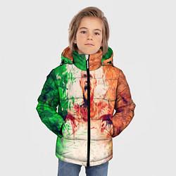 Куртка зимняя для мальчика Conor McGregor: Ireland цвета 3D-черный — фото 2