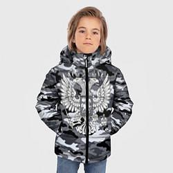 Куртка зимняя для мальчика Городской камуфляж Россия - фото 2